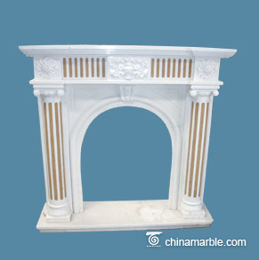 Mixed Marble Mantel