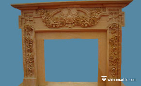Ivory Yellow Mantel