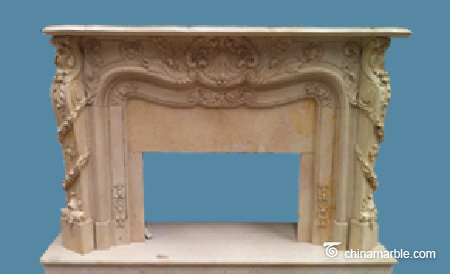 Egyptian Cream Mantel