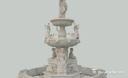 Statues Water Fountain