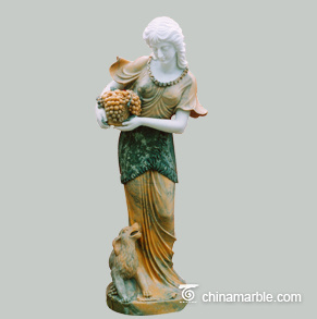 Bespoke Hand Carved New Product Natural Marble Figure Sculpture Sexy Woman Statue