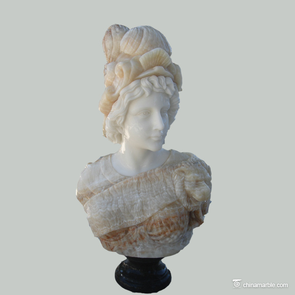 custom bust sculpture/female & male marble busts for sale/female marble bust sculptures
