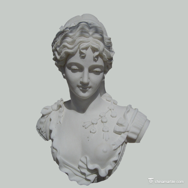famous marble bust sculptures/female marble bust sculptures/white marble woman bust sculpture