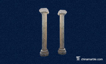 Travertine Columns