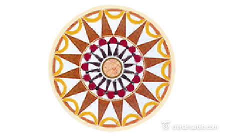 Water Jet Medallion/Water Cut Floor Medallion/Marble Floor Medallions Patterns