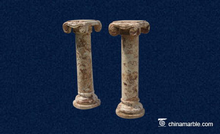 Brown Marble Pillar CL-039