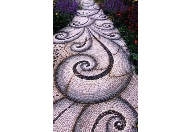 MulticolorKerb Stone-What are the elements of garden design