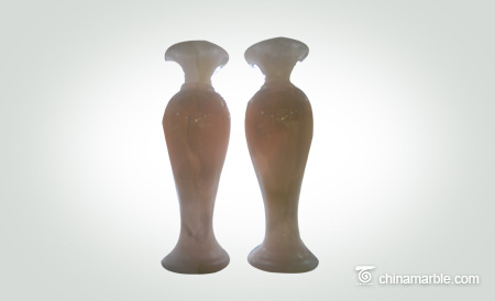 Stone vase home crafts office jade vase decoration commercial crafts gifts can be customized