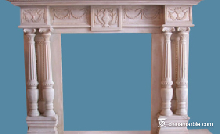 Limestone Fireplace Mantel Surrounds