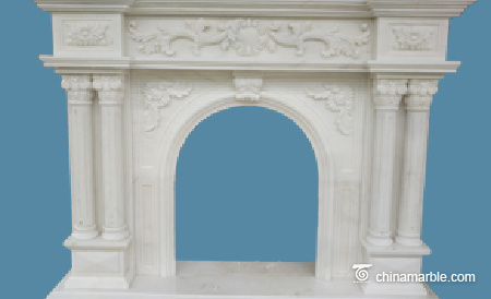 Mantel with Columns