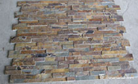 Natural Rusty Slate Wall Panel