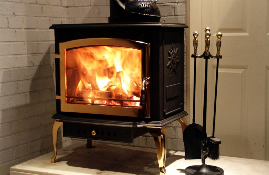 Why western countries like real fire fireplace ?