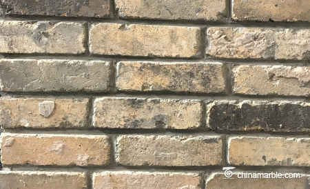 Old Reclaimed Bricks Natural Surface With Yellow Color