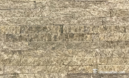 Yellow Granite Tiger Skin Quartzite Ledge Stacked Stone