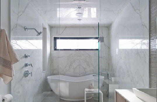 Marble Tub-The beautifully made of luxurious bathroom