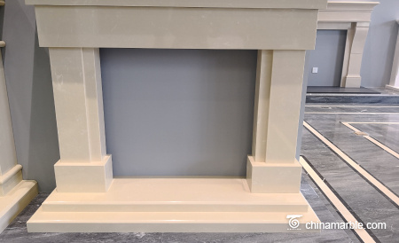 marble fireplace mantel/fireplace stone/fireplace decoration