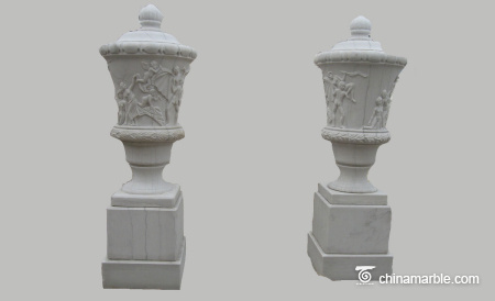 Carved-urn-with-pedestal-