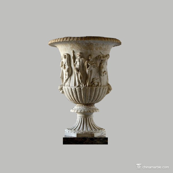 Urn-with-relief-