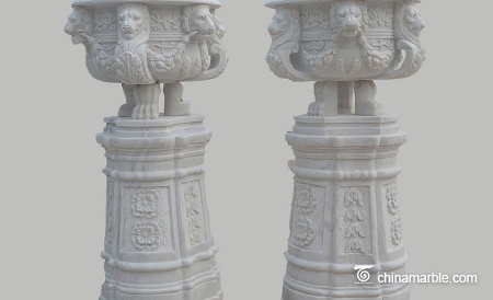 Urn-and-carved-base-