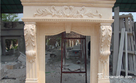 Marble Fireplace/Mantel Fireplace/Lowes Fireplace Mantels