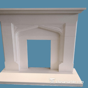 french fireplace mantle/antique fireplace