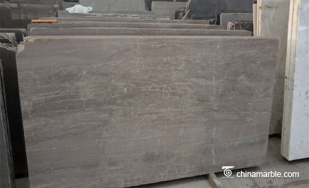 Cheap decoration slab marble Royal brown can be customized