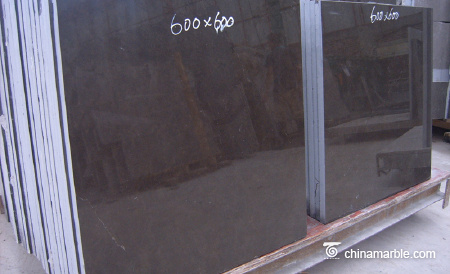 Cheap decoration slab marble Royal brown Coffee color can be customized