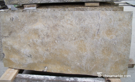 CHEAP Faint Yellow Marble Slab With Customized Best Prices