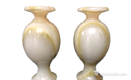 Stone vase home crafts office jade vase decoration commercial crafts gifts can be customized handicraft works